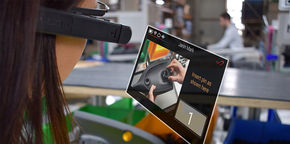 ar smart glasses for manufacturing