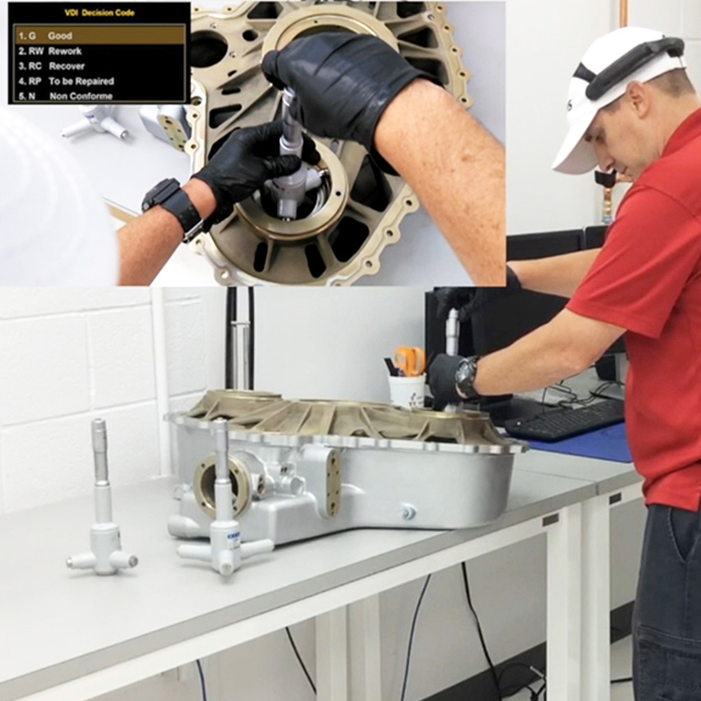 Augmented reality inspections