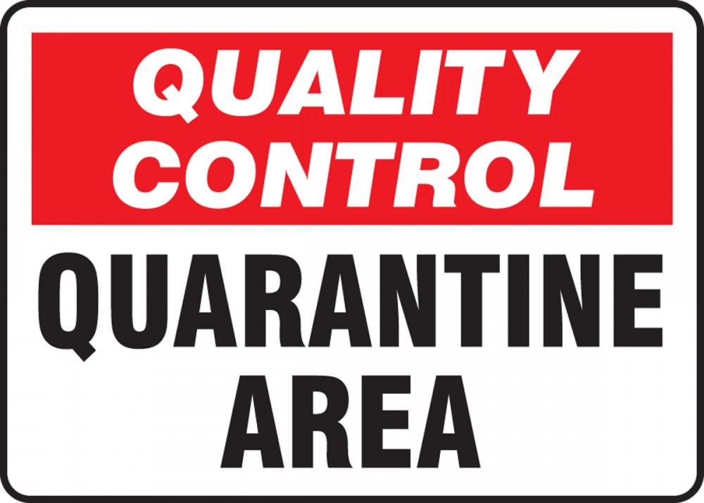 Quarantine Areas covid 19